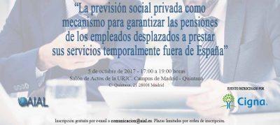Jornada La previsión social privada como solución