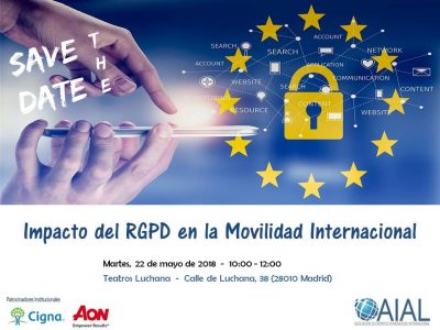 Save the Date Jornada RGPD