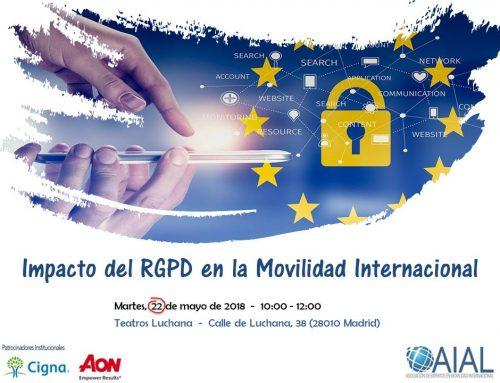 Impacto del RGPD en la Movilidad Internacional