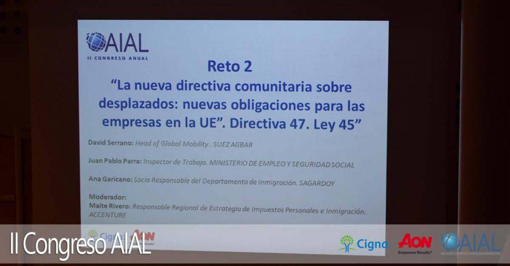 Crónica II congreso AIAL