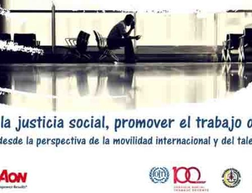 Impulsar la justicia social, promover el trabajo decente (11-07-19)